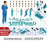 isometrics create your... | Shutterstock .eps vector #1024139629