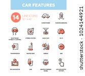 car features   line design... | Shutterstock .eps vector #1024144921
