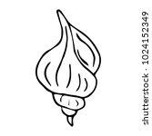 shells logotype illustration....   Shutterstock . vector #1024152349