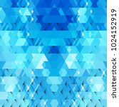 abstract blue geometric shapes  ... | Shutterstock .eps vector #1024152919