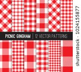 Red And White Picnic Tablecloth ...