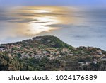 sunset from the village of... | Shutterstock . vector #1024176889