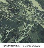 abstract painting. ink handmade ... | Shutterstock . vector #1024190629