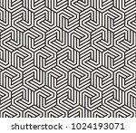 vector seamless pattern. modern ... | Shutterstock .eps vector #1024193071