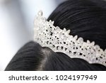 luxury wedding crown diadem on...   Shutterstock . vector #1024197949