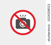 prohibiting vector sign.... | Shutterstock .eps vector #1024208521