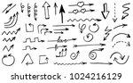 arrows  doodle hand drawn...