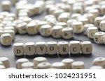 word   divorce made up of... | Shutterstock . vector #1024231951