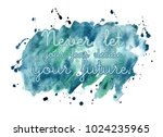 hand drawn watercolor... | Shutterstock . vector #1024235965
