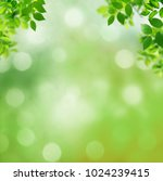 spring background with green... | Shutterstock . vector #1024239415