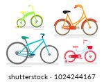 vector illustration set of...   Shutterstock .eps vector #1024244167