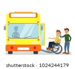 vector illustration of man... | Shutterstock .eps vector #1024244179