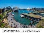 Busy Circular Quay In Sydney ...