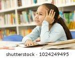 happy little asian girl smiling ... | Shutterstock . vector #1024249495