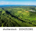 aerial view of panama highlands | Shutterstock . vector #1024252381