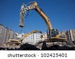Hydraulic Hammer On Demolitiom...