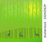 bamboo grove | Shutterstock .eps vector #102425629