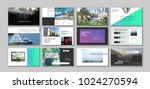 original presentation templates ... | Shutterstock .eps vector #1024270594