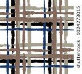 tartan. seamless grunge pattern ... | Shutterstock .eps vector #1024273015