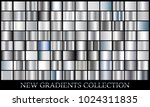 silver gradient set background... | Shutterstock .eps vector #1024311835