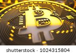 cryptocurrency. mountain of... | Shutterstock . vector #1024315804