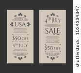 independence day usa sale...   Shutterstock .eps vector #1024334347