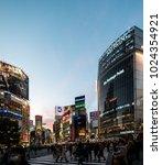 tokyo  japan   february 12 ... | Shutterstock . vector #1024354921