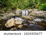 waterfalls and cascades in... | Shutterstock . vector #1024355677