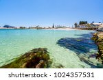 bathers beach is a popular... | Shutterstock . vector #1024357531