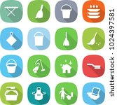 flat vector icon set   iron... | Shutterstock .eps vector #1024397581
