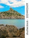 beautiful summer sea landscape...   Shutterstock . vector #1024402639