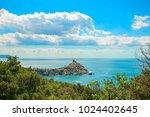 beautiful summer sea landscape...   Shutterstock . vector #1024402645