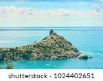 beautiful summer sea landscape...   Shutterstock . vector #1024402651