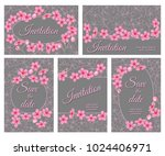 templates for postcards and...   Shutterstock .eps vector #1024406971