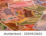 Currency Notes Background