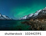 Aurora Borealis In Norway With...