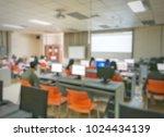 blurred background of staff...   Shutterstock . vector #1024434139