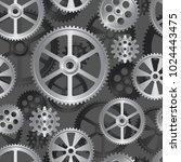 abstract mechanical background  ... | Shutterstock . vector #1024443475