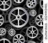 abstract mechanical background  ... | Shutterstock . vector #1024443481