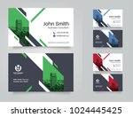 city background business card... | Shutterstock .eps vector #1024445425