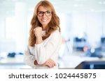 a beautiful mature...   Shutterstock . vector #1024445875