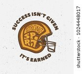 american football typography... | Shutterstock .eps vector #1024448017