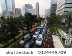 jakarta  indonesia   february 9 ...   Shutterstock . vector #1024449709