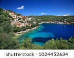 ithaca island  greece  june 3 ... | Shutterstock . vector #1024452634