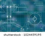 engineering backgrounds.... | Shutterstock .eps vector #1024459195