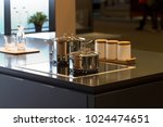 kitchen interior hob surface... | Shutterstock . vector #1024474651