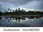 Panoramic View Of Angkor Wat O...