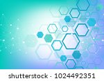 hexagonal geometric background. ... | Shutterstock .eps vector #1024492351