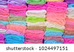 blurred image the knit fabric... | Shutterstock . vector #1024497151