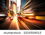 abstract motion blur image of... | Shutterstock . vector #1024504015